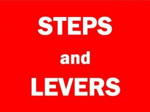 Steps & Levers