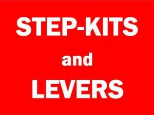 Step-Kits and Levers