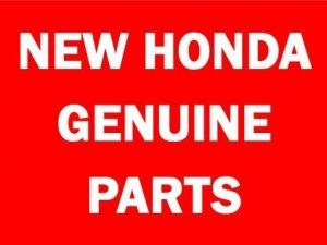 New Genuine Honda Parts