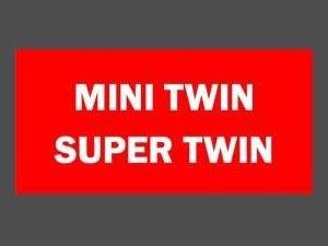 MINITWIN - SUPERTWIN